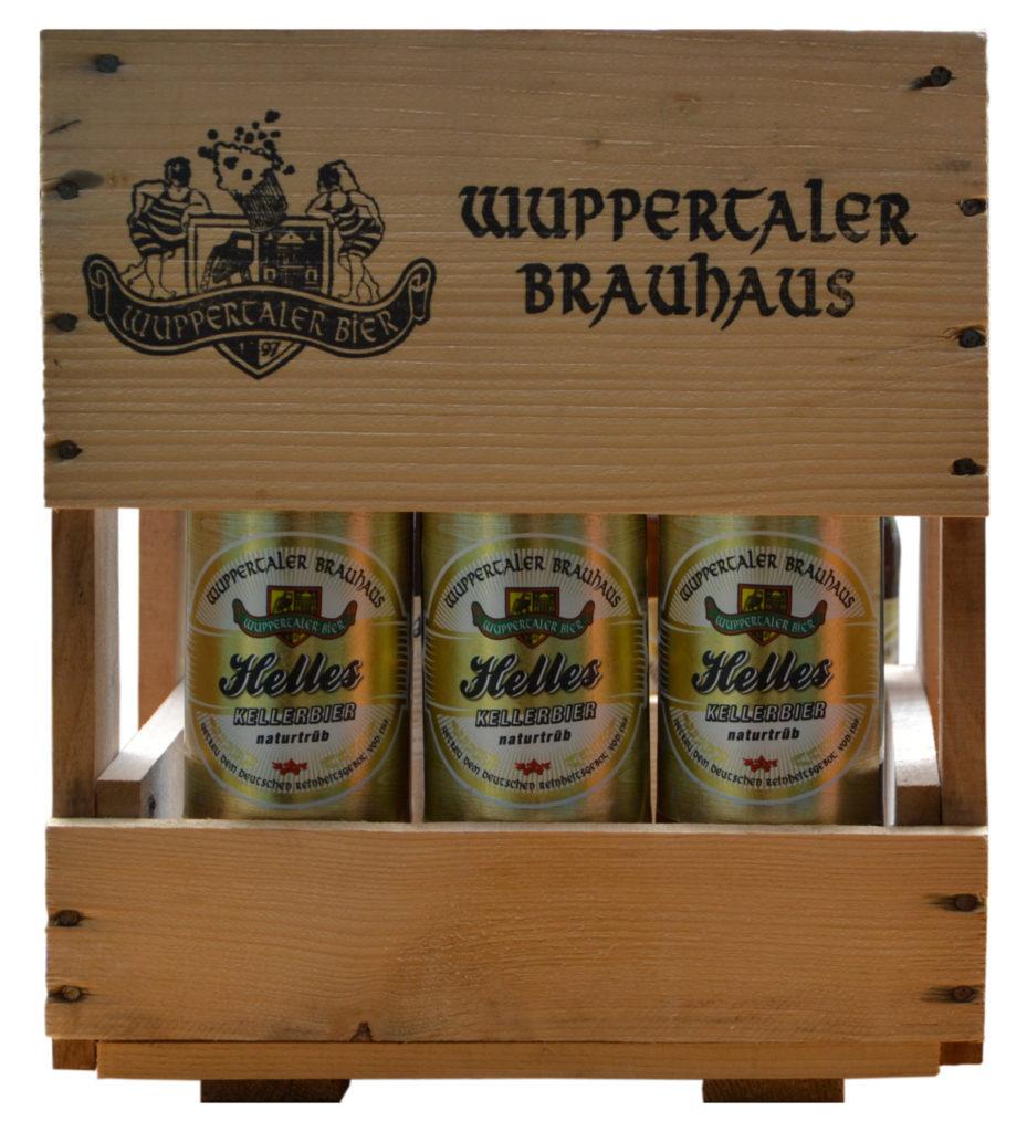 Kasten Hell Neu - copyright Wuppertaler Brauhaus GmbH